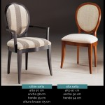 sofía silla y sillón