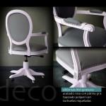 sillón giratorio LUIS XVI