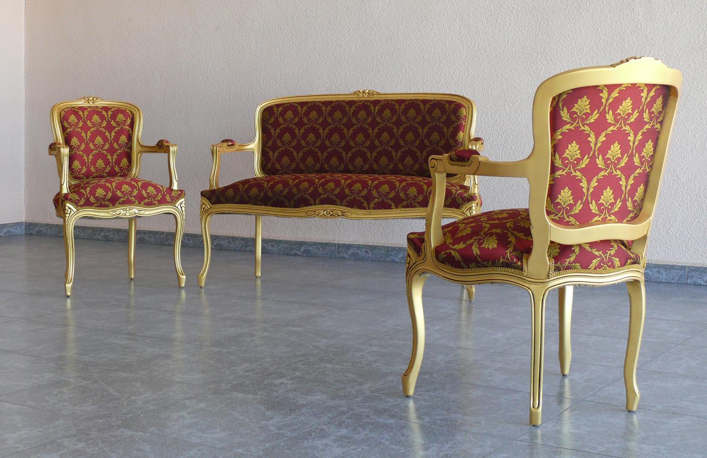 Muebles luis xv burmartapizados for Muebles el tresillo